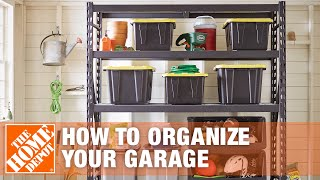 How To Organize Your Garage - The Home Depot