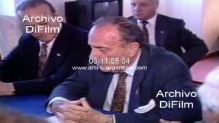 DiFilm - Homenaje a Manuel Fraga Iribarne en Mar del Plata 1994