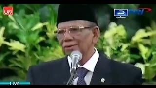 KH  Ahmad Hasyim Muzadi Dalam Acara Maulid Nabi Di Istana Negara | alhikamdepok