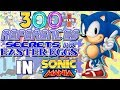 Sonic Mania - Referências, Segredos e Curiosidades