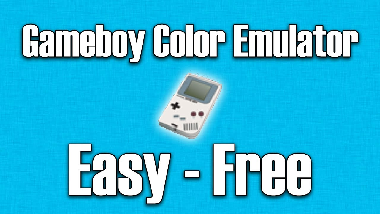 Gameboy color emulators - How To Get Gameboy Color Emulator Roms For Free On Ios 5