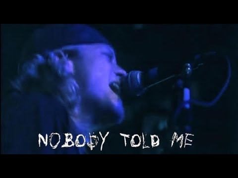 Puddle Of Mudd - Nobody Told Me