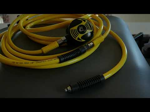 DIY Surface Supplied Air (Hookah) Diving System For Pool Repair Or Boat Cleaning  4K UHD