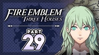 """Part 29: Let's Play Fire Emblem, Three Houses, Blue Lions, New Game+ - """"Super Sayan Byleth"""""""