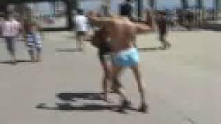 Jackass PARTY BOY in Huntington Beach, California