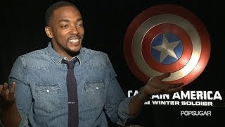"Anthony mackie calls chris evans ""captain small ass"""