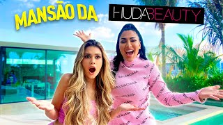 INVADINDO A MANSÃO DA HUDA BEAUTY! ✨