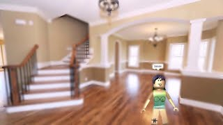 BLOXBURG GLITCH:GLITCHING IN PEOPLES HOUSES!