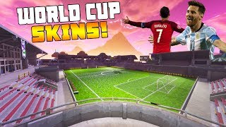 WORLD CUP SKINS in FORTNITE... 🔥(Choose your kit)