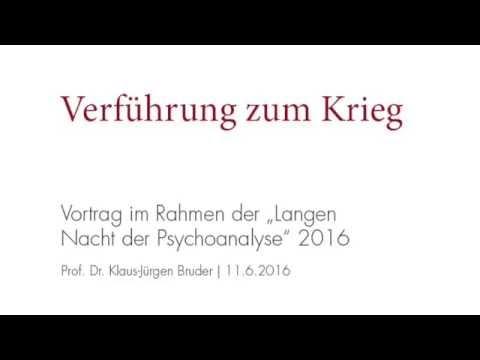 Vortrag: Die Verführung zum Krieg