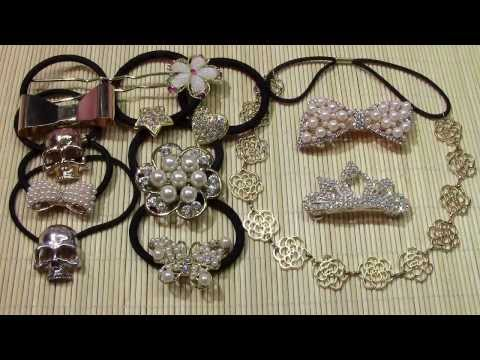 Beauty costume jewelry fashion hairstyle ornaments fashion hair jewels
