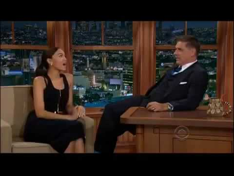 Ashley Madekwe Sexual Mystery on Craig Ferguson