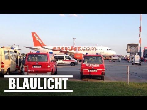 EasyJet Flugzeug mit Notlandung in Berlin - Schönefeld - Gas-Alarm im Passagier-Jet ( Billig )