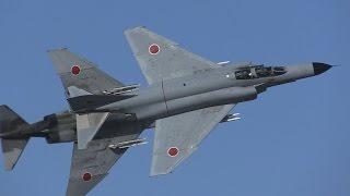 JASDF F-4EJ(mod) , RF-4E formation taka-off and Big Math-flight @ H...