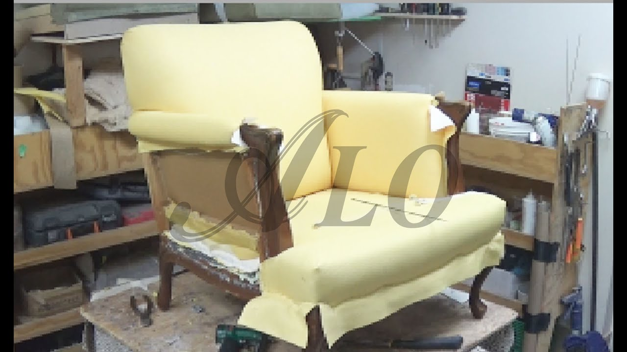 how to recover a sofa chair where buy legs in singapore reupholster the arm and back of alo