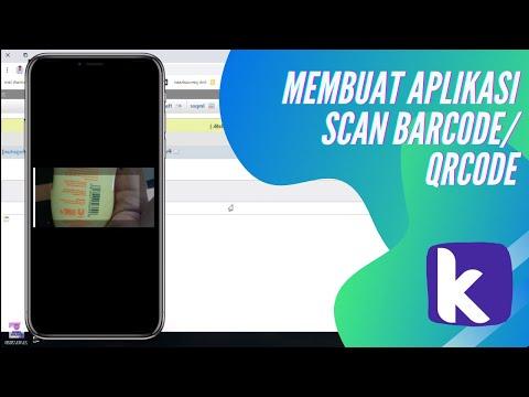 Membuat Aplikasi Input Data Dengan Barcode/Qrcode Scanner Kodular + Mysql