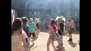 The amazing FORTRESS at BEAT HERDER DJ CLUMSY TECHNO set 2013