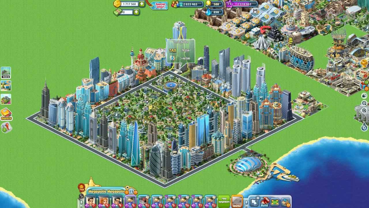 1200 megabucks on megapolis 60 usd 6 26 2013 youtube for Build a building online