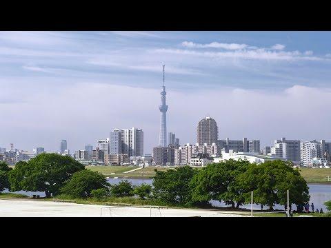 [ 4K Ultra HD ] 新緑の東京スカイツリー Tokyo Sky Tree in Fresh Green Season (Shot on RED EPIC)