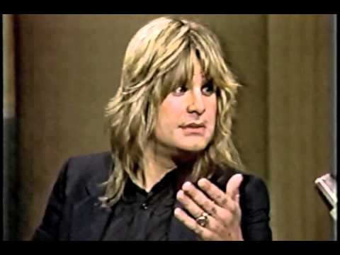 Ozzy Osbourne on Letterman March 25 1982