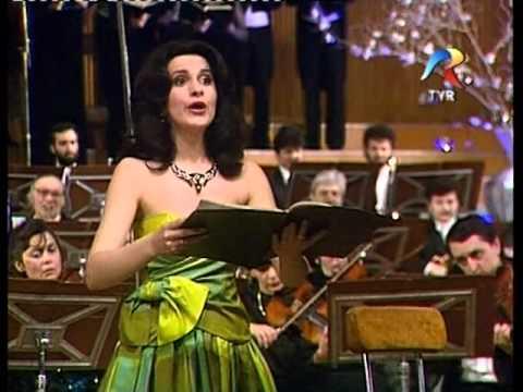 Angela Gheorghiu - Rossini: Stabat Mater, Rossini Gala, Bucharest 1992