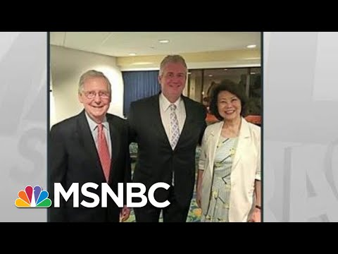 Chao Streamlined Federal Grants For Husband McConnell: Politico | Rachel Maddow | MSNBC