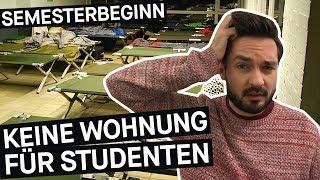 Wohnungsnot im Studium: Feldbett statt WG? || PULS Reportage