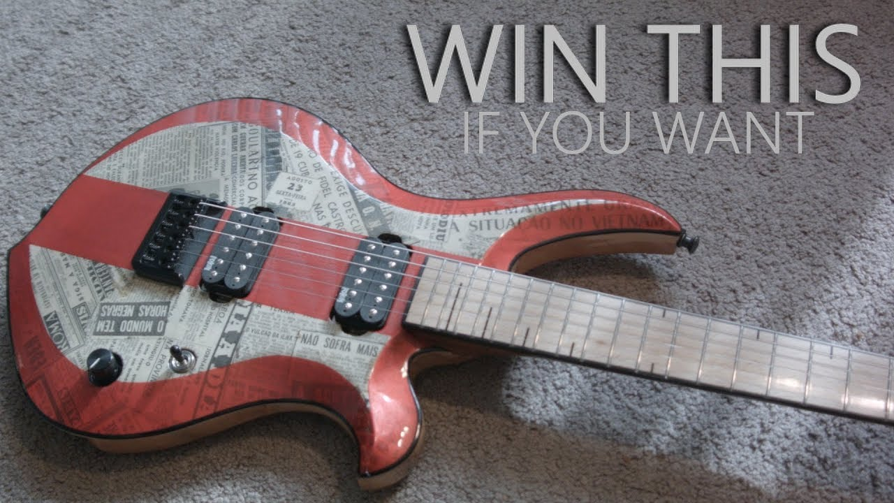 Riff contest - Win a custom GF Ragnar guitar