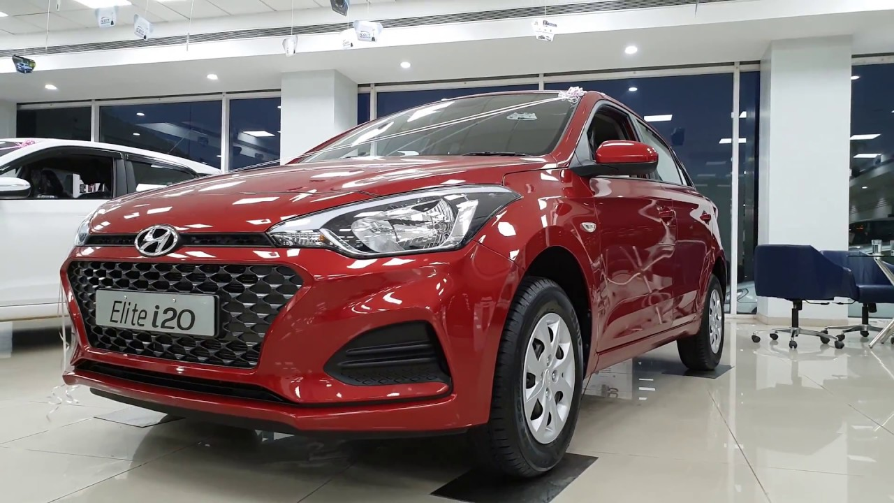 2018 Hyundai I20 Facelift Sportz Vs Magna White Vs Red Exterior And Interior 4k 60fps