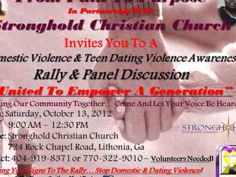 Domestic Violence & Teen Dating Violence Awareness Rally 2012