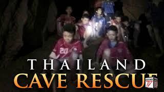 Poco a Poco van rescatando a todos los niños de la Cueva en Tailandia  Con Complicaciones
