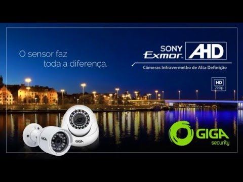 Giga Security -  Video Comparativo Sony Exmor AHD