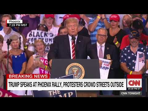 President Trump's full rally in Phoenix