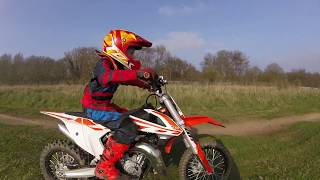 2017 KTM 65SX 8 Year Old 3rd Ride On New Bike