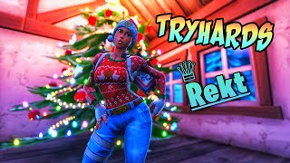 Tryhards Getting Outplayed In Fortnite Battle Royale