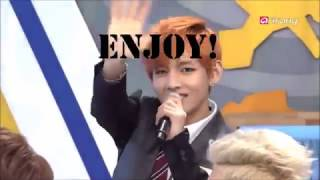 Taehyung's deep voice (Live)
