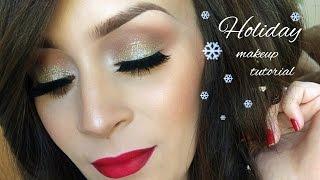 Holiday Makeup tutorial l Christmas Thumbnail