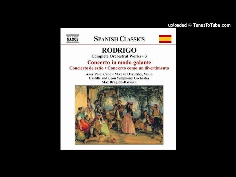 The Rodrigo Edition: Concertos & Orchestral Works