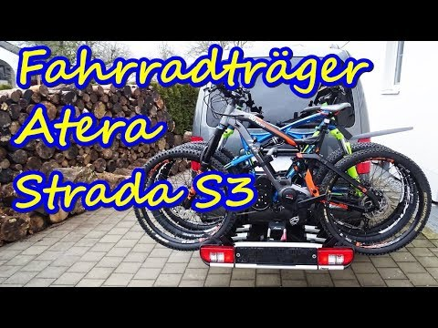 fahrradtr ger atera strada s3 f r e bikes montage und. Black Bedroom Furniture Sets. Home Design Ideas