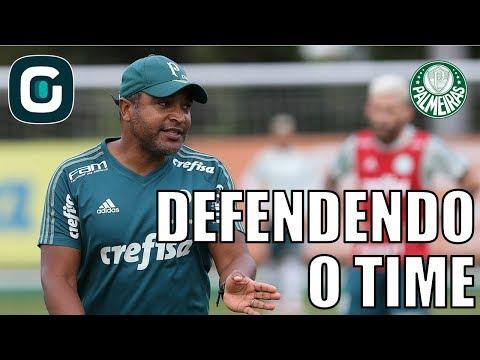 Roger Defende Jogadores Do Palmeiras E Foca No Brasileirão- Gazeta Esportiva (13/04/18)