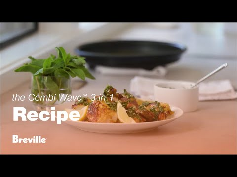 The Combi Wave™ 3 in 1 | Amanda Haas makes Moroccan spiced roast chicken | Breville USA