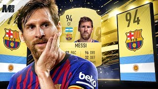 FIFA 19 MESSI REVIEW | 94 MESSI PLAYER REVIEW | FIFA 19 ULTIMATE TEAM
