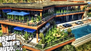 Franklin's Illegal Growing Weed House - GTA 5 PC MOD