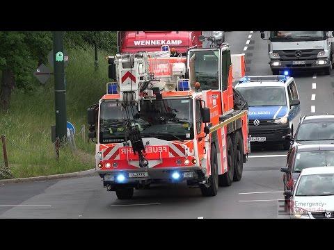 [PROBLEM RETTUNGSGASSE] -| Einsatzfahrten Feuerwehr - Polizei & Rettungsdienst Düsseldorf |-
