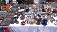 Impressionen vom Flohmarkt in Coburg