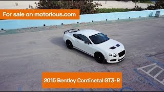 2015 Bentley Continental GT3-R for sale