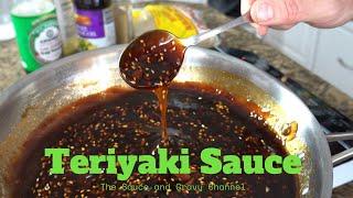 Teriyaki Sauce  Pantry Style Teriyaki Sauce  At Home Teriyaki Sauce  Easy Homemade Teriyaki Sauce