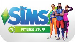 THE SIMS 4 // FITNESS STUFF | FIRST IMPRESSIONS — EARBUDS, ROCK CLIMBING ,  FURNITURE & DECOR!