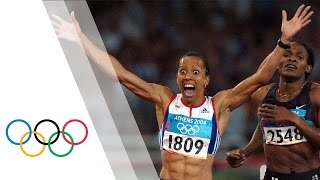 Kelly Holmes Wins 800m Gold (First Of The Double) - Athens 2004 Olympics