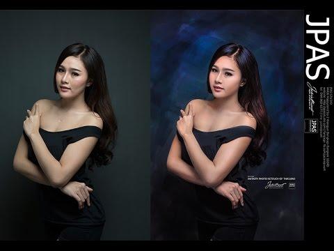 Photoshop  - เทคนิคแต่งภาพให้มีออร่า, เปลี่ยนฉากหลังให้สวยงาม ด้วยเทคนิคง่ายๆ by JackiePixart